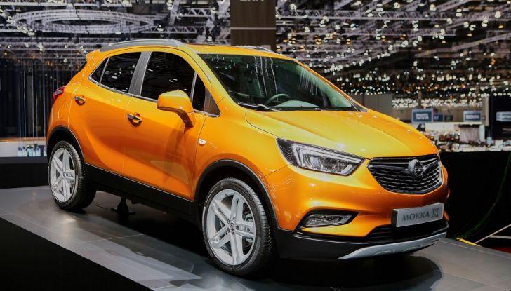 Opel Mokka X debutta con nuovo motore 1.4 a Ginevra - Foto 1 di 16