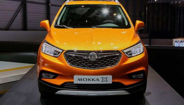 Opel Mokka X debutta con nuovo motore 1.4 a Ginevra - Foto 2 di 16