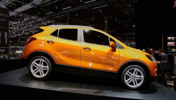 Opel Mokka X debutta con nuovo motore 1.4 a Ginevra - Foto 4 di 16