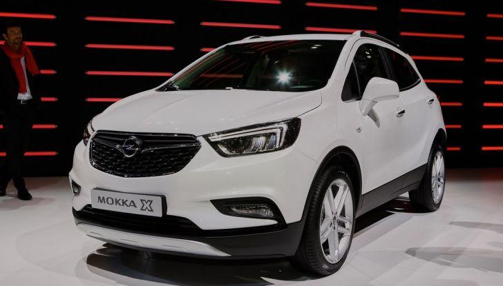 Opel Mokka X debutta con nuovo motore 1.4 a Ginevra - Foto 6 di 16