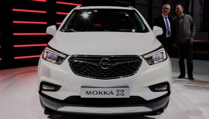 Opel Mokka X debutta con nuovo motore 1.4 a Ginevra - Foto 9 di 16