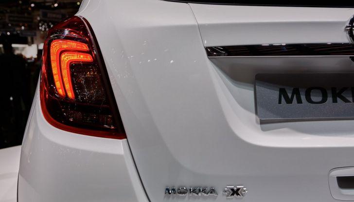 Opel Mokka X debutta con nuovo motore 1.4 a Ginevra - Foto 13 di 16