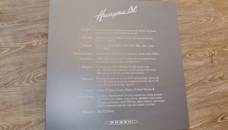Pagani Huayra BC, edizione limitata a 20 pezzi da 750 CV - Foto 14 di 21