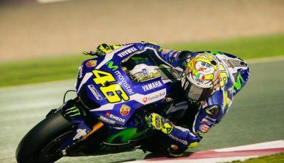"""Valentino Rossi, Test Qatar 2016: """"Siamo già pronti per la gara"""""""