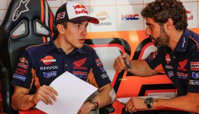 """Test Qatar Day 1, Marquez solo decimo: """"per fortuna sono solo test"""""""