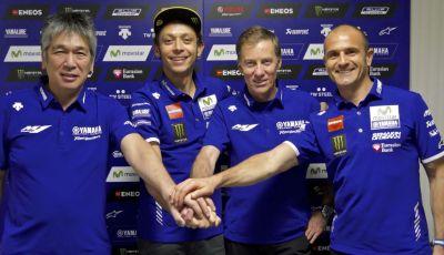 MotoGP: Rossi per altri due anni con Yamaha
