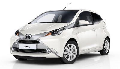 Toyota Aygo x-pure: la citycar per le donne