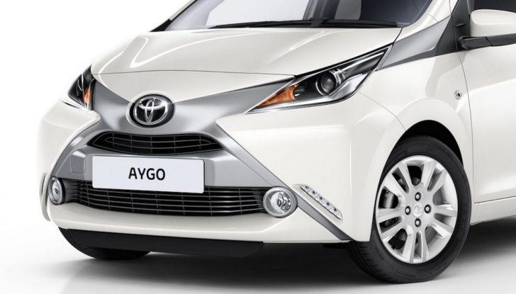 Toyota Aygo x-pure: la citycar per le donne - Foto 4 di 9