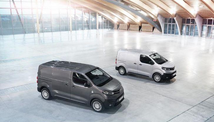 Nuovo Toyota Proace Van: gamma più ampia per tutte le esigenze - Foto 2 di 14