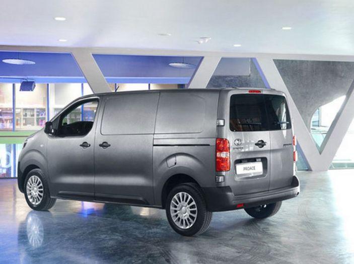 Nuovo Toyota Proace Van: gamma più ampia per tutte le esigenze - Foto 11 di 14