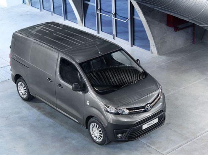 Nuovo Toyota Proace Van: gamma più ampia per tutte le esigenze - Foto 14 di 14