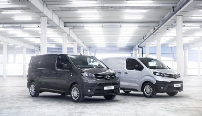 Nuovo Toyota Proace Van: gamma più ampia per tutte le esigenze
