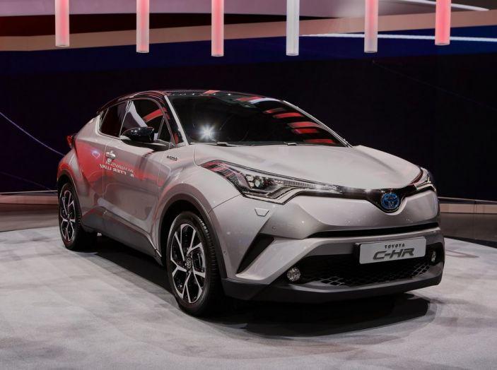 Toyota C-HR, potrebbe diventare la Auris Cross