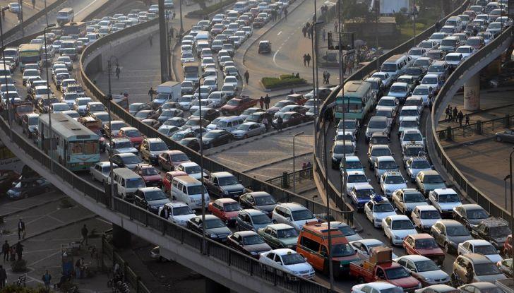 Traffico in tilt