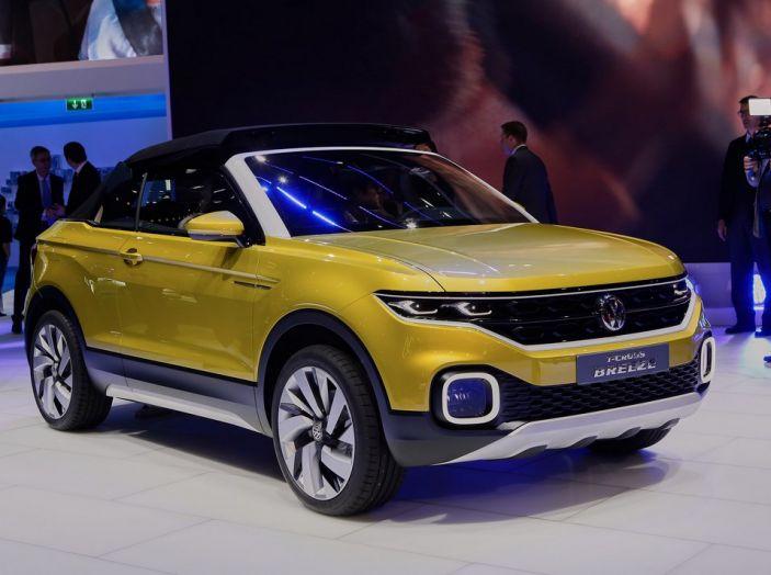 Volkswagen T-Cross Breeze: il prototipo a Ginevra 2016