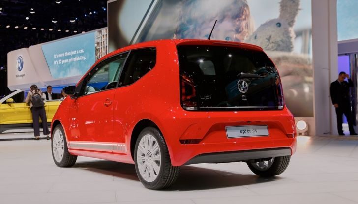 Nuova Volkswagen Up live Ginevra 2016