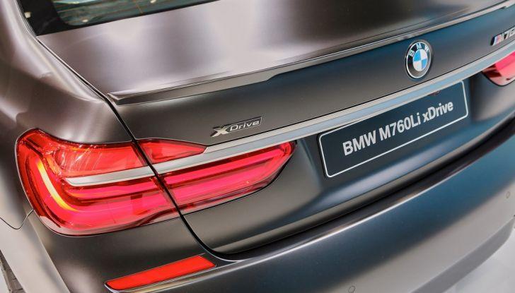 Nuova BMW M760Li xDrive - Foto 18 di 34