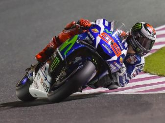 MotoGP: Lorenzo in pole in Qatar
