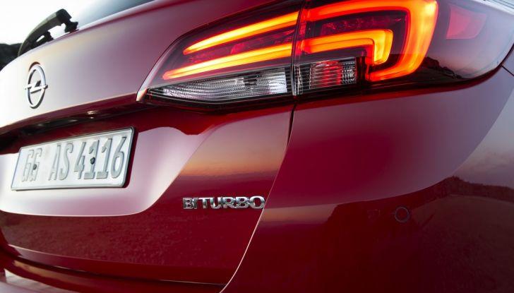 Nuova Opel Astra Sports Tourer prova su strada, informazioni e prezzi - Foto 40 di 40