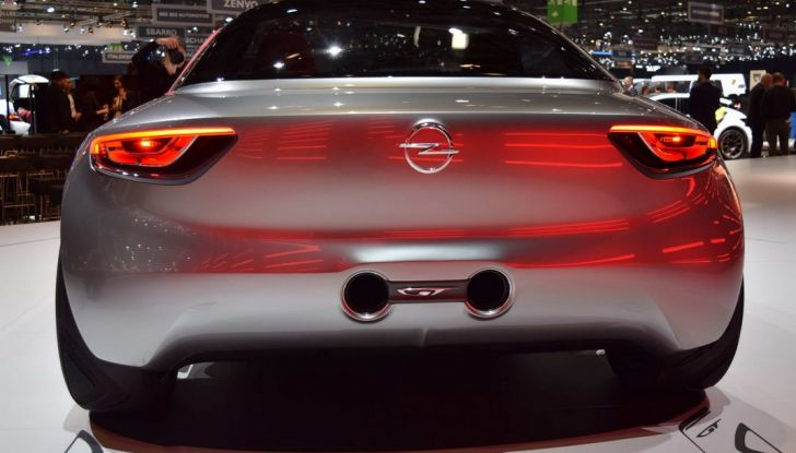 Opel GT Concept: a Ginevra la sportiva del futuro - Foto 6 di 20