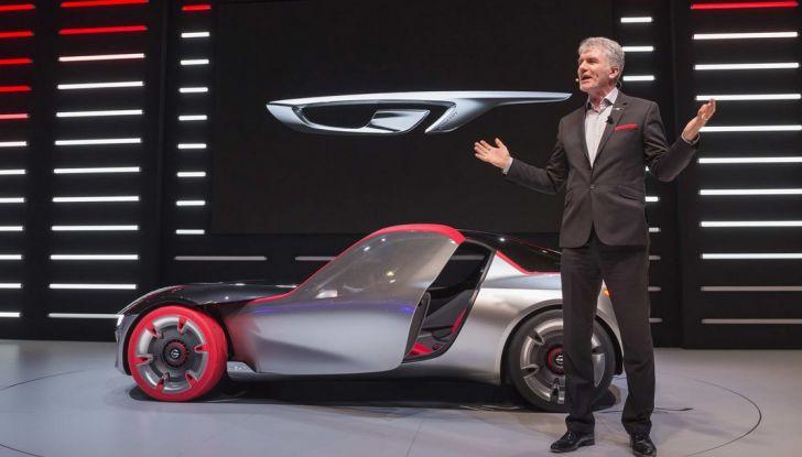 Opel GT Concept: a Ginevra la sportiva del futuro - Foto 9 di 20
