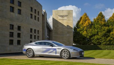 Aston Martin: James Bond guiderà un'auto elettrica