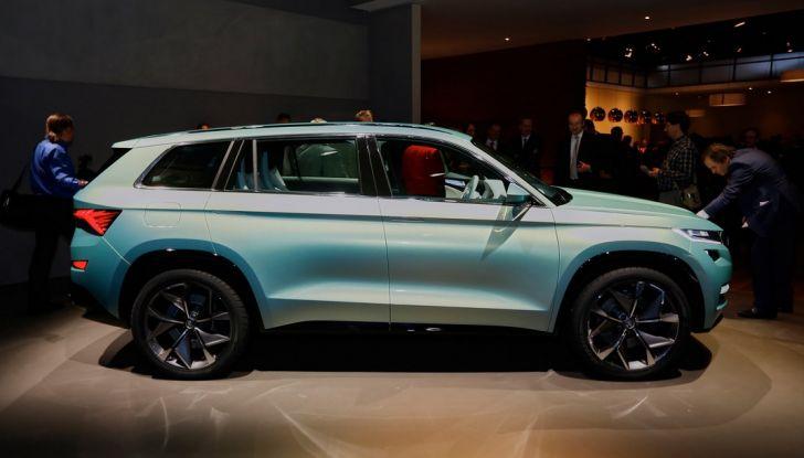 Skoda Vision S: ecco il concept del nuovo SUV - Foto 4 di 15