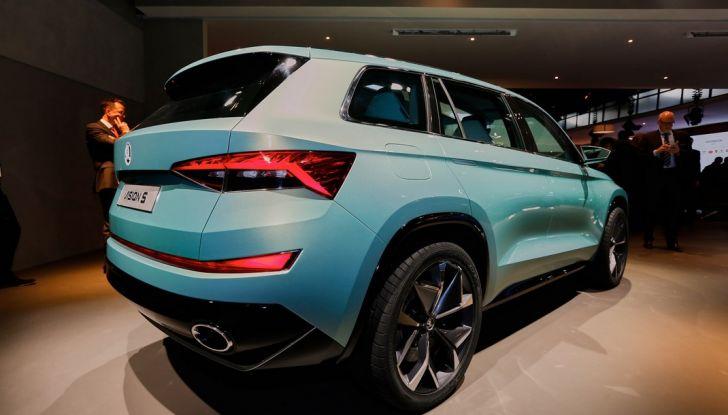 Skoda Vision S: ecco il concept del nuovo SUV - Foto 5 di 15