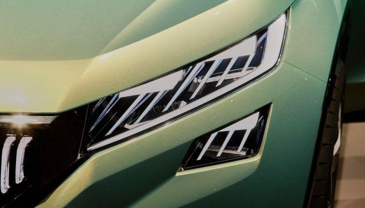 Skoda Vision S: ecco il concept del nuovo SUV - Foto 7 di 15