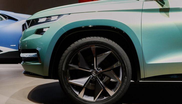 Skoda Vision S: ecco il concept del nuovo SUV - Foto 6 di 15