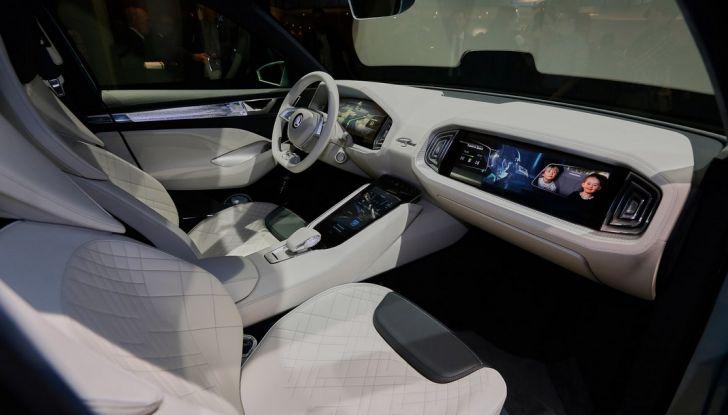 Skoda Vision S: ecco il concept del nuovo SUV - Foto 9 di 15