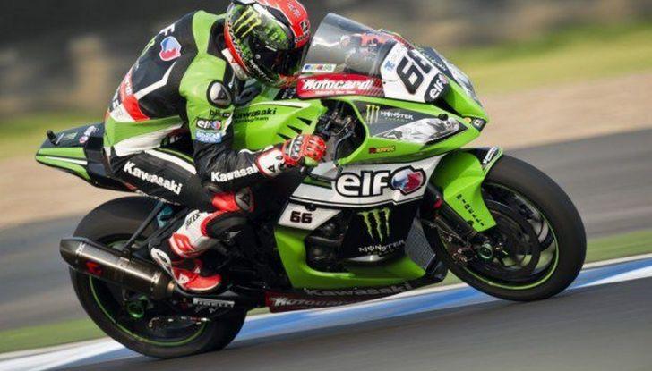 Superbike GP Thailandia: anche in Gara 2 domina una Kawasaki ma è quella di Tom Sykes - Foto 4 di 11