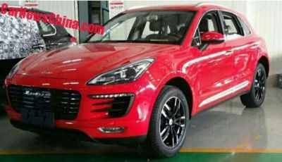 Zotye SR8: dalla Cina la copia della Porsche Macan