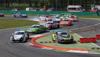 Matteo Cairoli mette a segno una doppietta a Monza nella Carrera Cup Italia