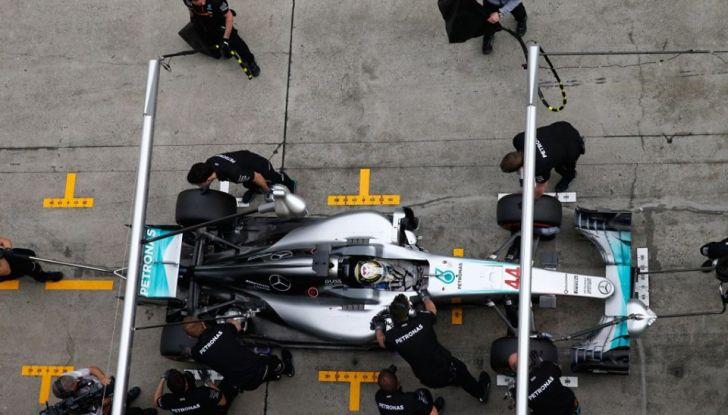F1 2016, GP del Brasile: Hamilton trionfa nel diluvio, Vettel quinto - Foto 24 di 41