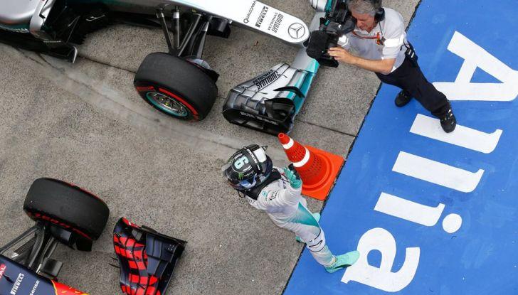 F1 2016, GP del Brasile: Hamilton trionfa nel diluvio, Vettel quinto - Foto 35 di 41