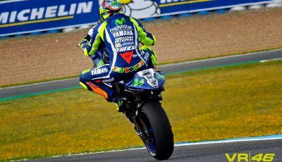 MotoGP: Rossi in pole a Jerez davanti a Lorenzo