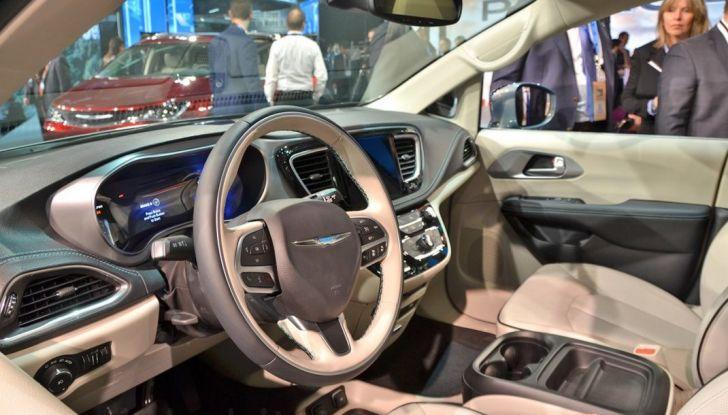 Chrysler Pacifica interni