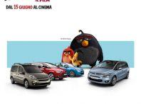 Citroen realizza una nuova compagna pubblicitaria con Sony e gli Angry Birds