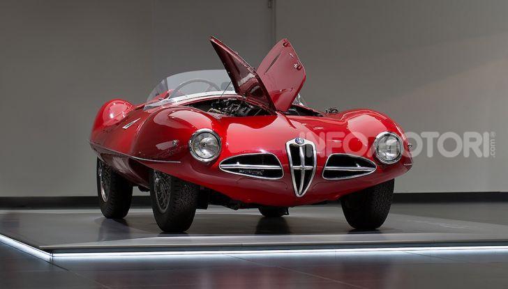 """Alfa Romeo, la Mostra """"Cofani Aperti"""" al Museo Storico di Arese - Foto 1 di 20"""