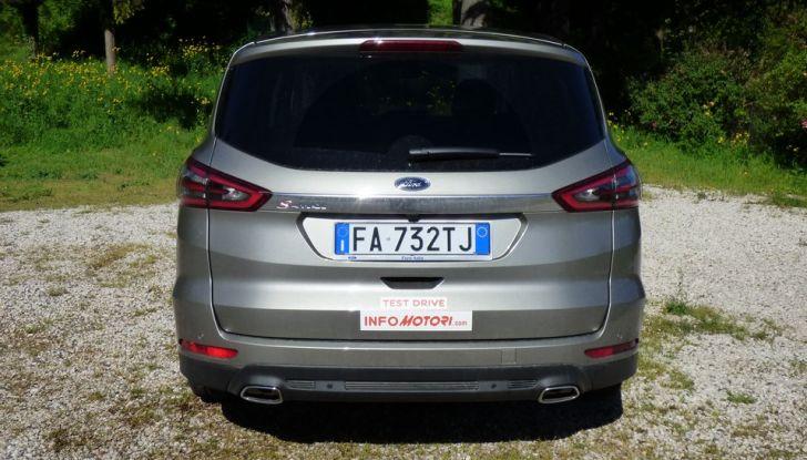 Ford S-Max TDCi 2.0 180 CV, prova su strada, dotazioni di serie e prezzi (20)