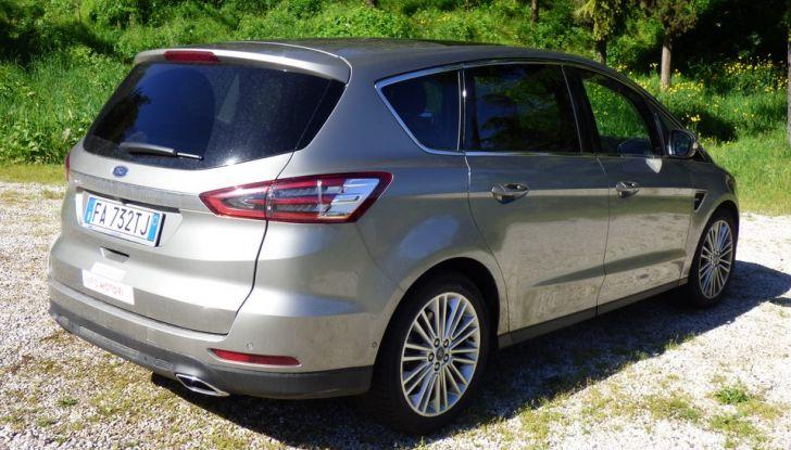 Ford S-Max TDCi 2.0 180 CV, prova su strada, dotazioni di serie e prezzi (21)