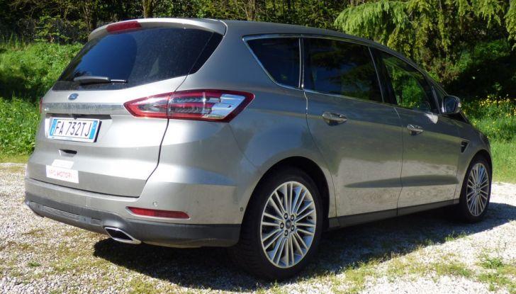 Ford S-Max TDCi 2.0 180 CV, prova su strada, dotazioni di serie e prezzi (22)