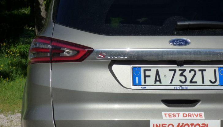 Ford S-Max TDCi 2.0 180 CV, prova su strada, dotazioni di serie e prezzi (24)