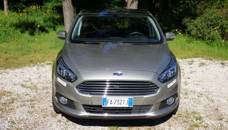 Ford S-Max TDCi 2.0 180 CV, prova su strada, dotazioni di serie e prezzi (3)