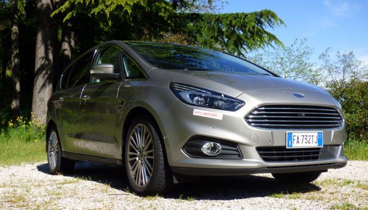 Ford S-Max TDCi 2.0 180 CV, prova su strada, dotazioni di serie e prezzi (5)