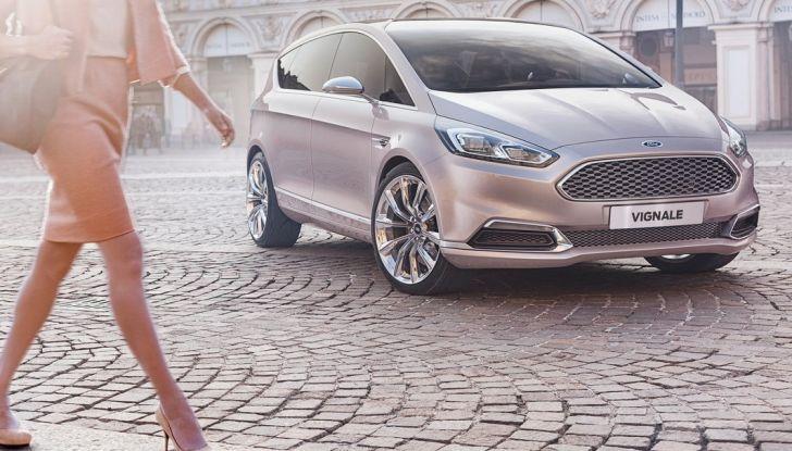 Ford S-Max Vignale, design.