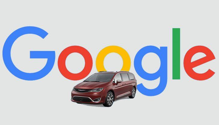 Fiat Chrysler Automobile (FCA) e Google insieme per la guida autonoma - Foto 1 di 11