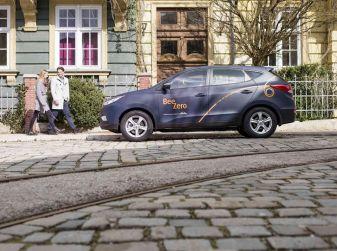 Hyundai BeeZero, il primo car sharing a idrogeno del mondo