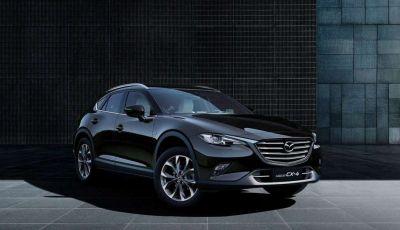 Mazda CX-4, il SUV crossover coupè debutta a Pechino